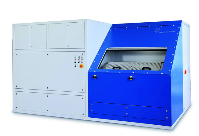 Hydraulic Test Stand with burst pressure up to 15000 bar and media tempering